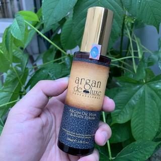 Tinh dầu phục hồi tóc hư tổn Argan Deluxe Argan Oil Serum 100ml thumbnail