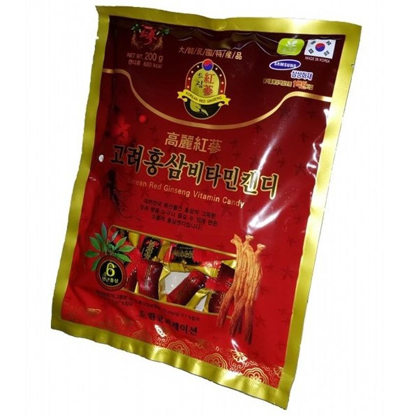 Kẹo hồng sâm Hàn Quốc 200g - 3533347 , 934752337 , 322_934752337 , 30000 , Keo-hong-sam-Han-Quoc-200g-322_934752337 , shopee.vn , Kẹo hồng sâm Hàn Quốc 200g
