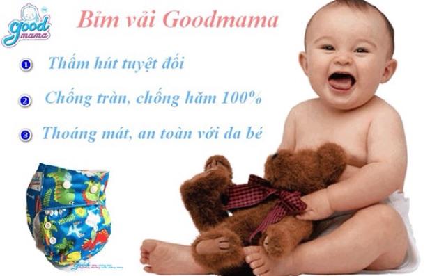 1 Miếng lót tã vải Goodmama siêu chống tràn