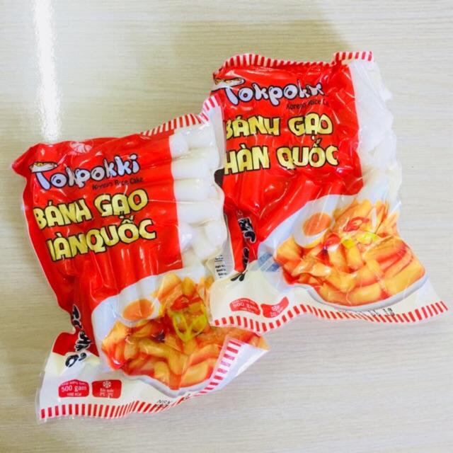Bánh gạo tokbokki Hàn Quốc 1KG