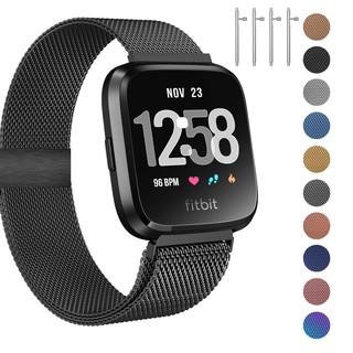 Dây thép kiểu nam châm dán hít Milanese Loop dành cho đồng hồ thông minh Fitbit Versa / Versa Lite / Versa 2 nhiều màu