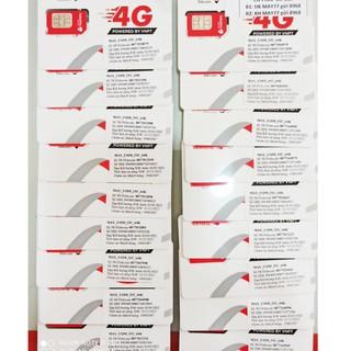 SIM 4G – 30k CHỌN SỐ – VINAPHONE & INTELECOM Miễn phí Gọi nội mạng vinaphone & Inte 90GB data/tháng ( lits số trên ảnh )