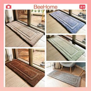 Thảm lau chân, chùi chân trang trí thảm trải sàn bếp cao cấp chống trơn trượt Beehome 2 size 40×60 và 45x120cm.