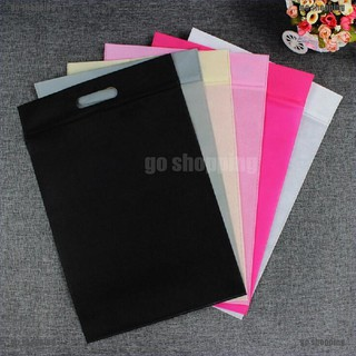 go shopping Waterproof Non-woven Bag Travel Laundry Pouch Cloth Storage Bag thumbnail