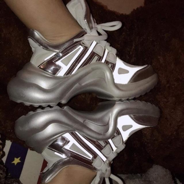 Giày LV| Giày nữ Sneaker hot 2020 kèm ảnh thật