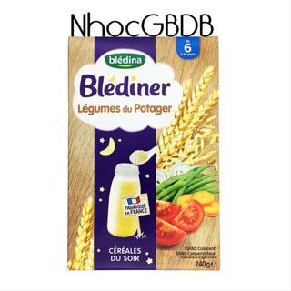 Bột lắc sữa Bledina đêm 6m+ vị gạo rau củ 240g (Pháp) thumbnail