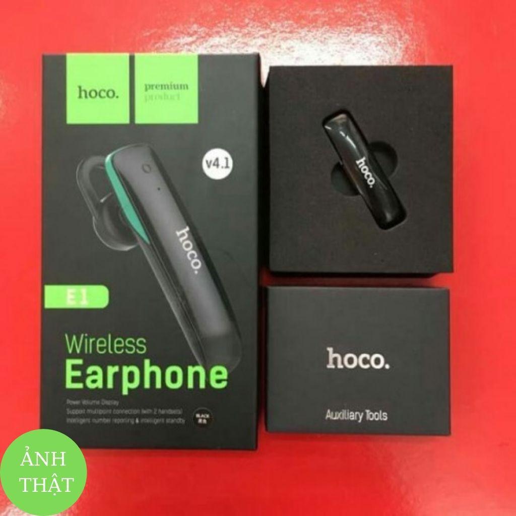 Tai Nghe Bluetooth HOCO E1 ♥ Không Dây Chống Ồn Tương Thích Với Mọi Thiết Bị Điện Thoại - Tuấn Phụ Kiện