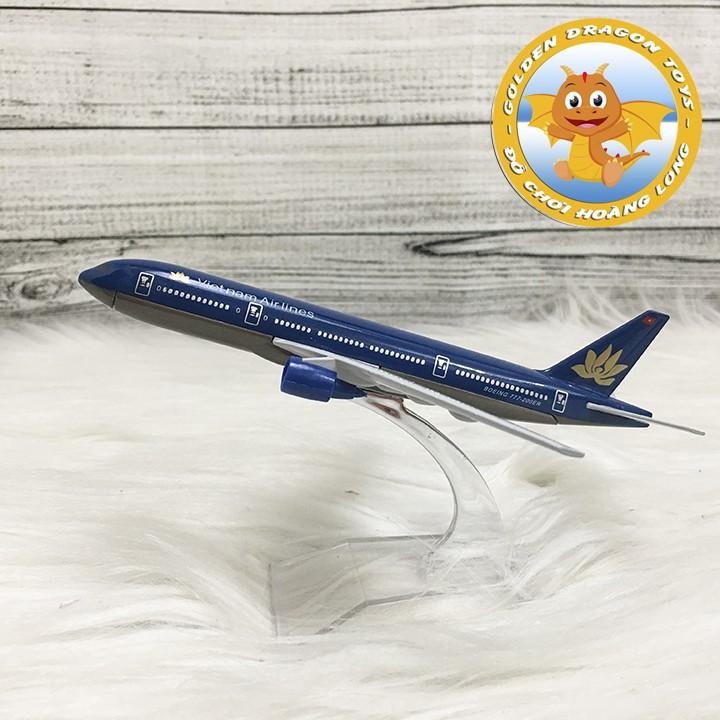 Mô hình máy bay Boeing 777-200ER Vietnam Airlines 1:400 16cm