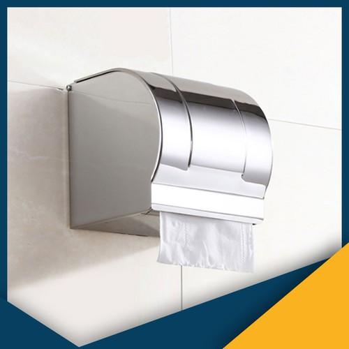 Hộp đựng giấy vệ sinh gắn tường inox 304 AAAK8 - dùng cuộn giấy có lõi - AAAK8