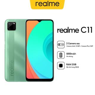 Điện Thoại Realme C11 (2GB/32GB) - Hàng Chính Hãng:Xám hạt tiêu