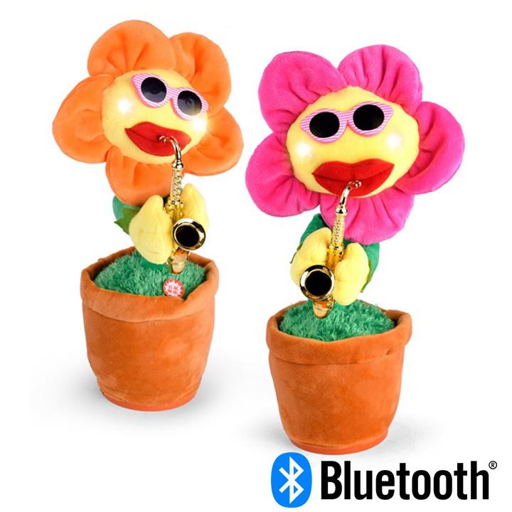 Hoa uốn éo nhảy múa và thổi kèn Saxophone (phiên bản Bluetooth)