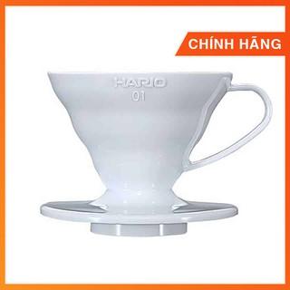 [Mã SR14MAY5 giảm 20K đơn 50K] Phễu Hario nhựa trắng   1-2 cups (size 01) và 3-4 cups (size 02)