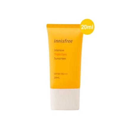 Kem chống nắng Innisfree 20ml, chống nắng cực kỳ hiệu quả bất chấp nắng gắt.