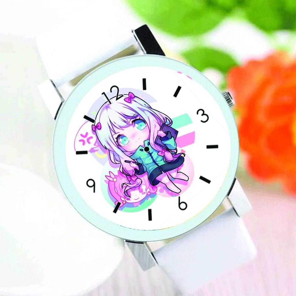 Đồng hồ đeo tay nam nữ in hình Eromanga Sensei anime chibi thời trang dễ thương
