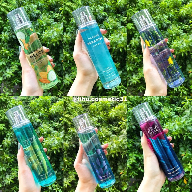 Sản phẩm body mist của Bath and Body Works loại to 236ml