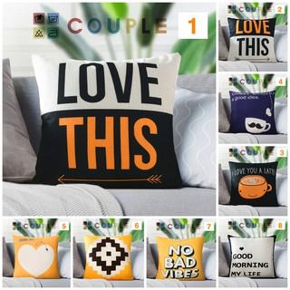 Gối Tựa Sofa COUPLE (1-16) (45cm x 45cm) thumbnail