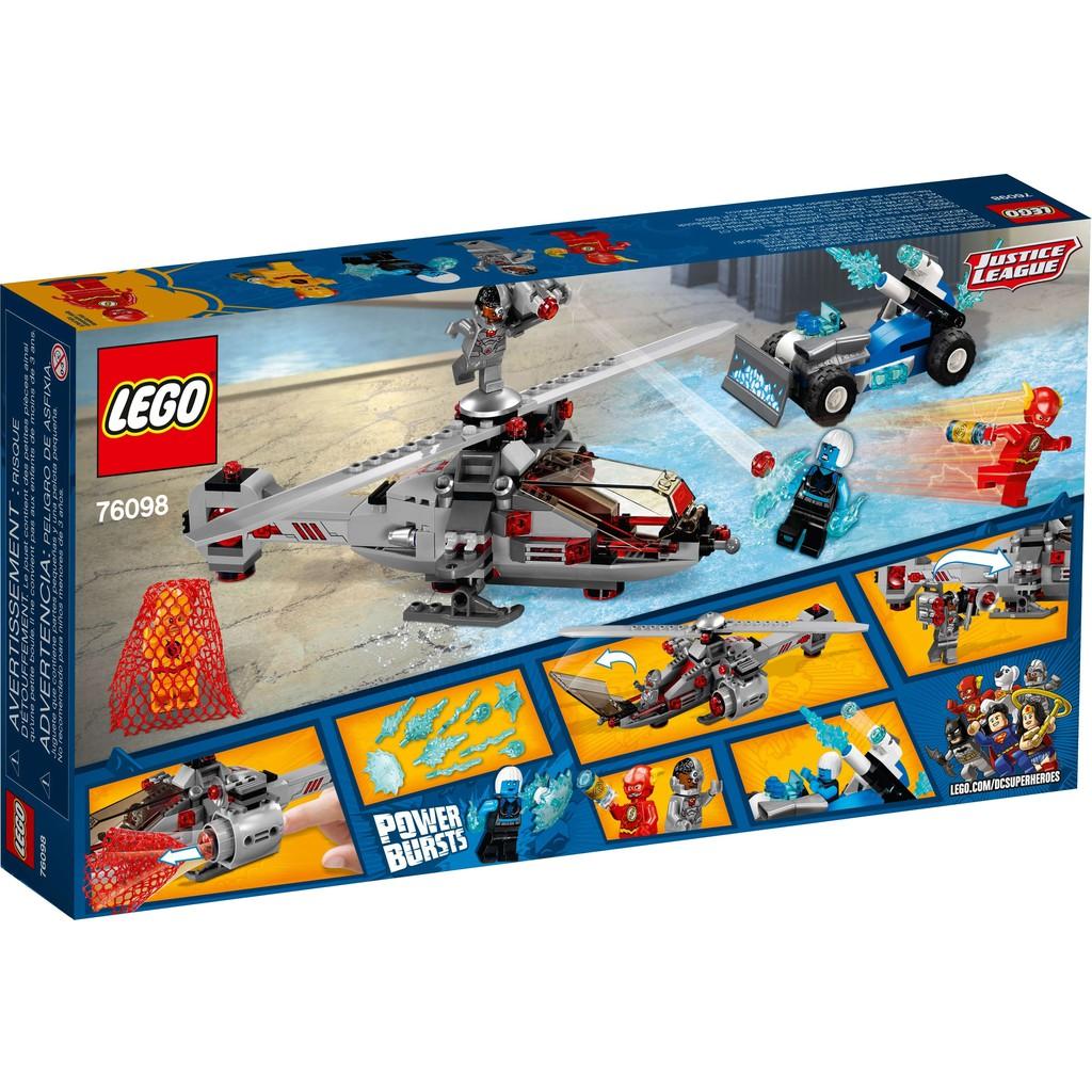 LEGO DC Comics Super Heroes 76098 - The Flash Đại Chiến Người Băng