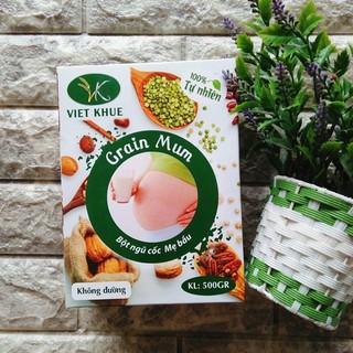 Ngũ cốc bầu Việt Khuê hộp 500g thumbnail