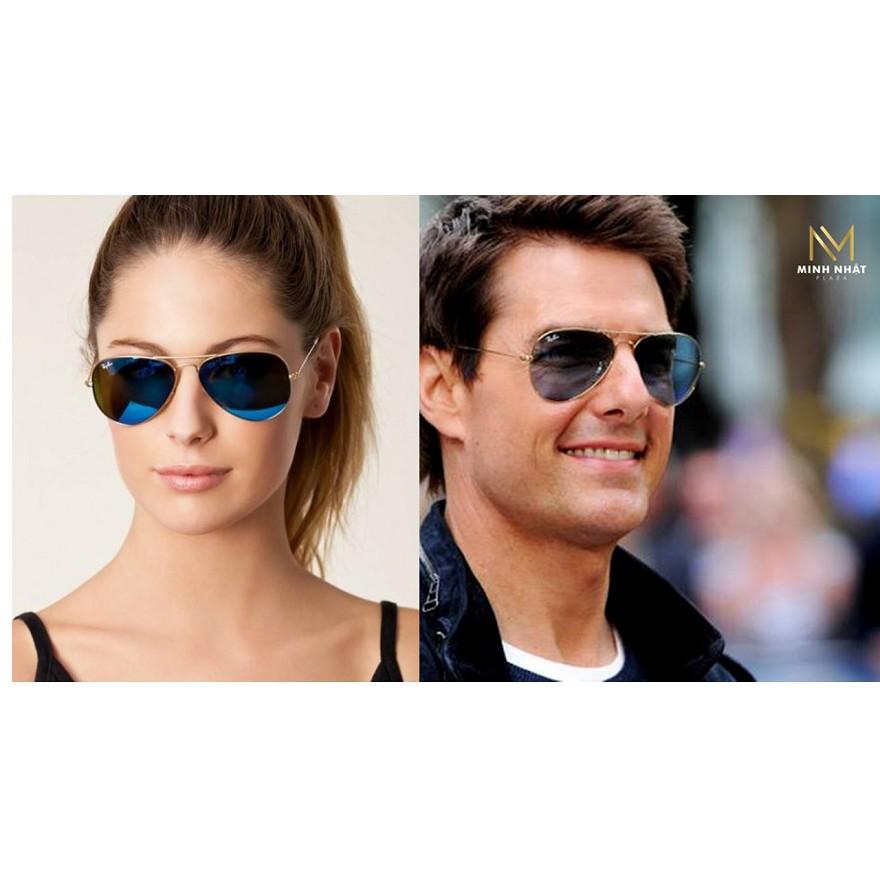 [KÍNH RÂM] kính mắt mát thời trang nam nữ siêu cường lực mắt kính chống tia UV 400% đẳng cấp sang trọng