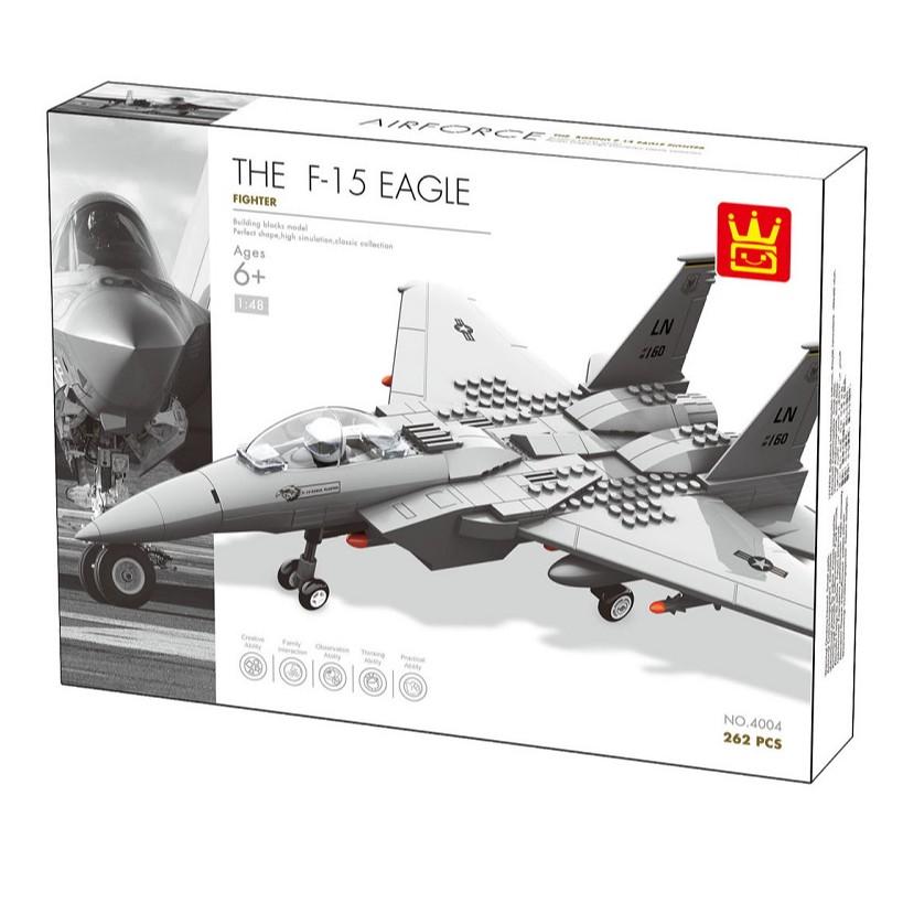 Lego Ghép Hình Máy Bay Chiến Đấu 4004