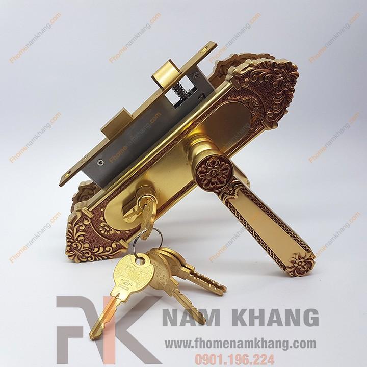 Khóa cửa gỗ thông phòng NK179M-RC (Màu Đồng Vàng) - 22151794 , 3314487380 , 322_3314487380 , 1447000 , Khoa-cua-go-thong-phong-NK179M-RC-Mau-Dong-Vang-322_3314487380 , shopee.vn , Khóa cửa gỗ thông phòng NK179M-RC (Màu Đồng Vàng)