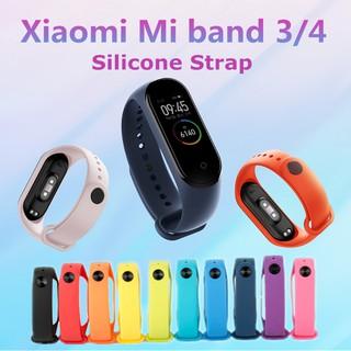 Vòng đeo tay bằng silicon cho Xiaomi Mi Band 4 Band 3 thumbnail