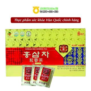 [Chính hãng] Trà Hồng sâm Hàn Quốc 6 năm tuổi - Hộp 100 gói x 3g thumbnail