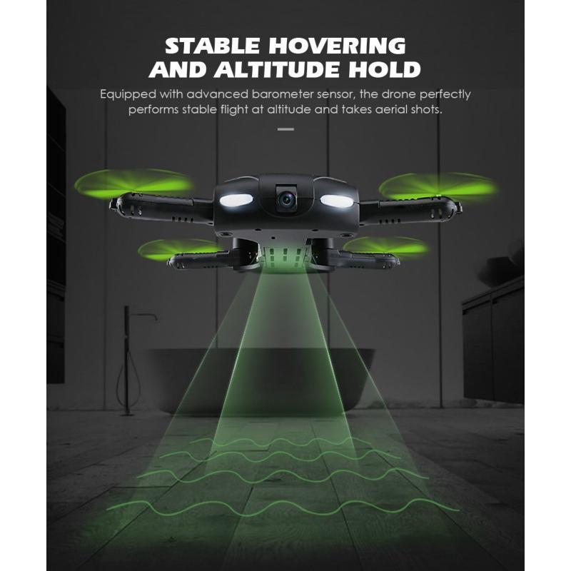 Drone D5 mini 6 trục điều khiển từ xa 2.4G có camera và bộ phụ kiện đi kèm