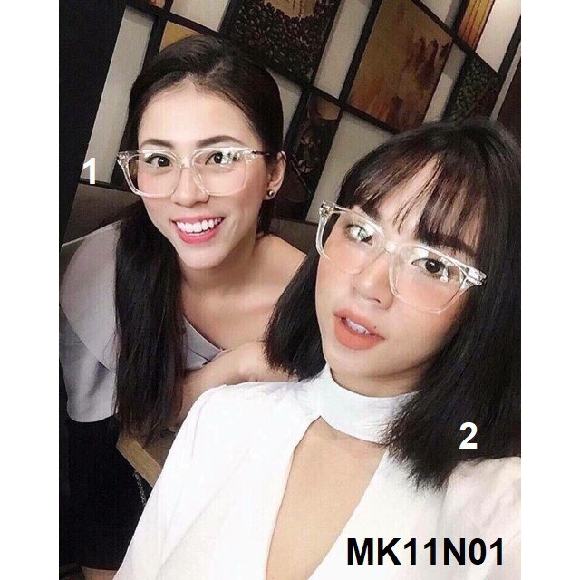 Kính V Trong Gọng Vàng Siêu Sang - MK11N01 [MP]