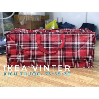 [FREESHIP] túi đựng đồ, quần áo chăn màn IKEA VINTER xuất dư (nguyên tag)