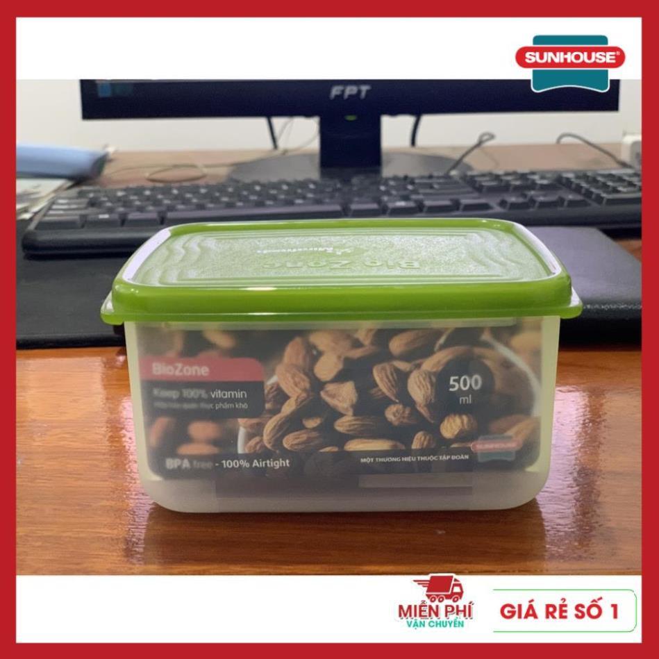 Hộp nhựa đựng thực phẩm, hộp đựng thức ăn SUNHOUSE BioZone 400ML, 500ML,800ML, 1100ML, 2700ML, 7000ML, 10000ml