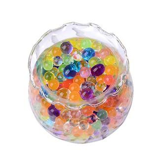 1 Package Absorbent Beads Multicolor Water-Absorbing Beads Sponge Baby JP0598