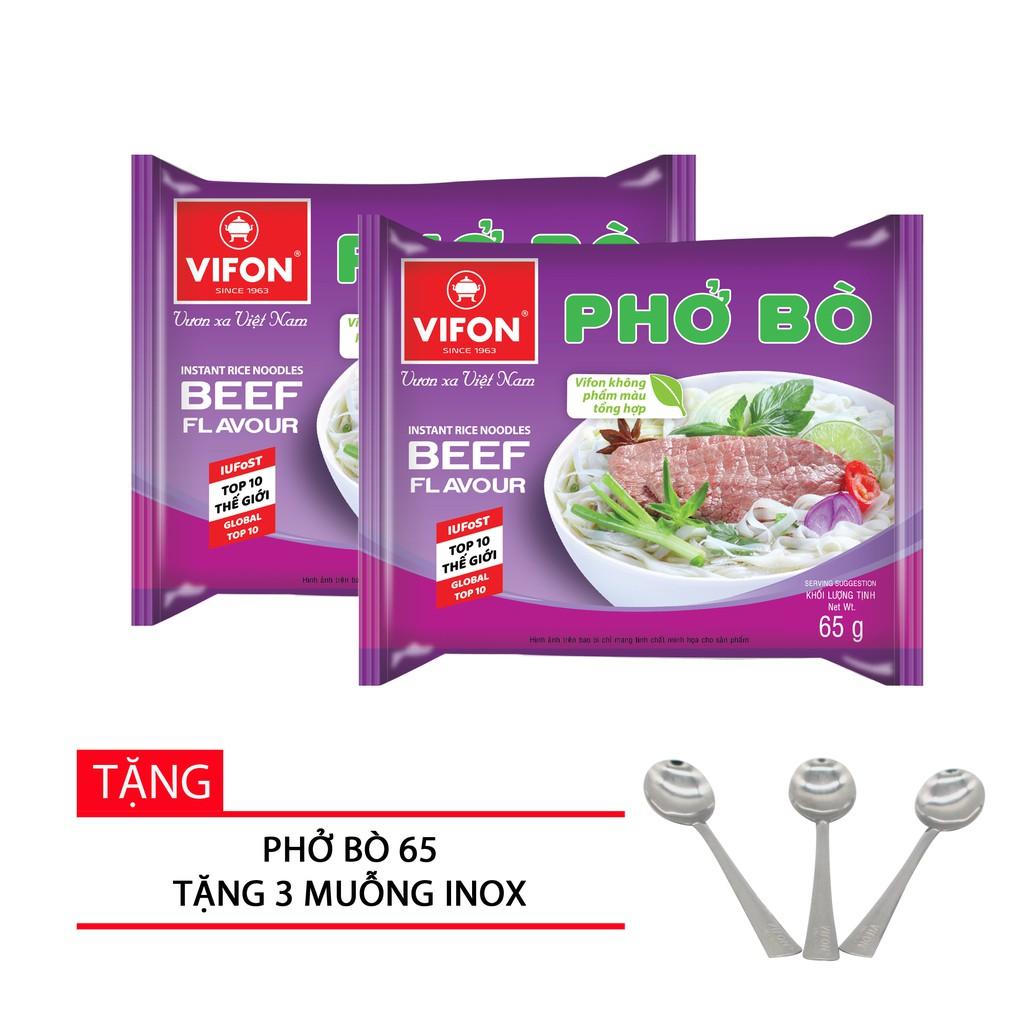 Thùng 30 Gói Phở Bò 65g Vifon
