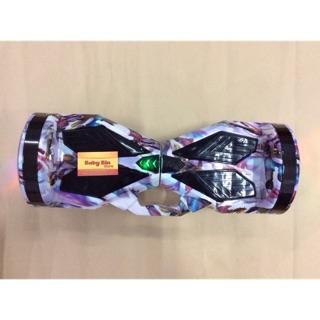 Xe Cân Bằng Điện 2 Bánh Phát Sáng 7,5 inch Bluetooth