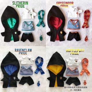 Set đồng phục Hogwarts cho doll 20cm