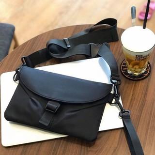 Túi đeo chéo nam mini bumbag vải dù thời trang hàn quốc chống thấm nước tphcm