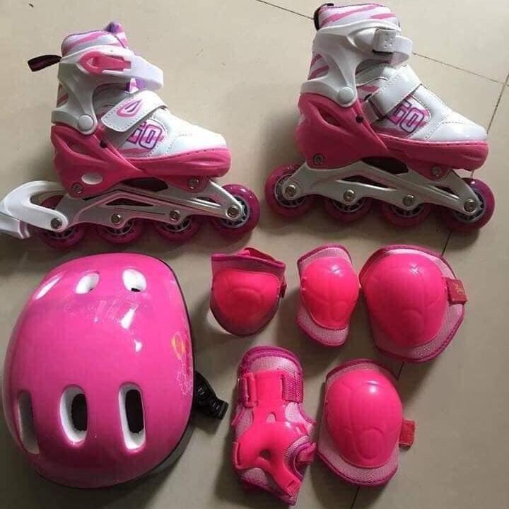 Trọn bộ giày trượt Patin cho bé hàng lọai 1 đủ size