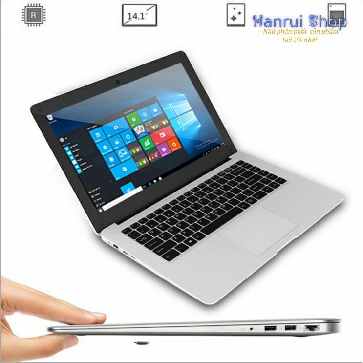 Laptop siêu mỏng 14inch IPS 1080p Intel N3450 Ram 6G, 64Gb eMMc