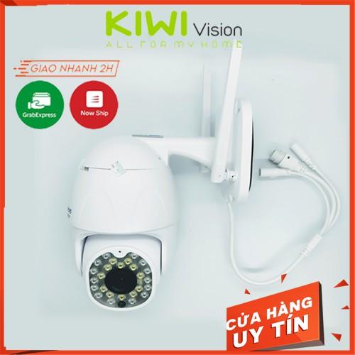 Camera Wifi Yoosee Ngoài Trời PTZ, Hồng Ngoại Xoay 360 Độ Full HD 1080p- xem đêm có màu với đèn flash