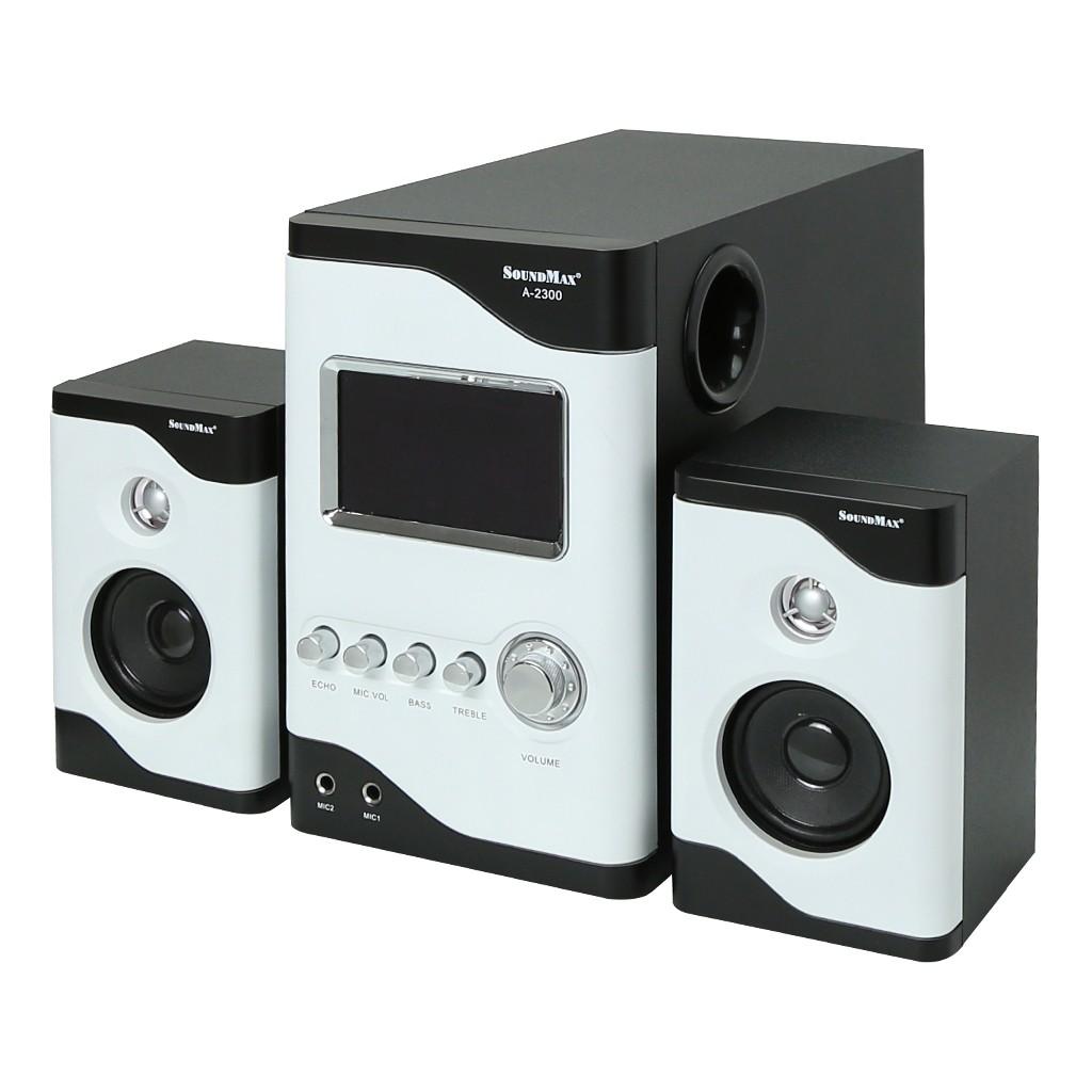 Loa Vi Tính SoundMax A-2300 2.1 60W