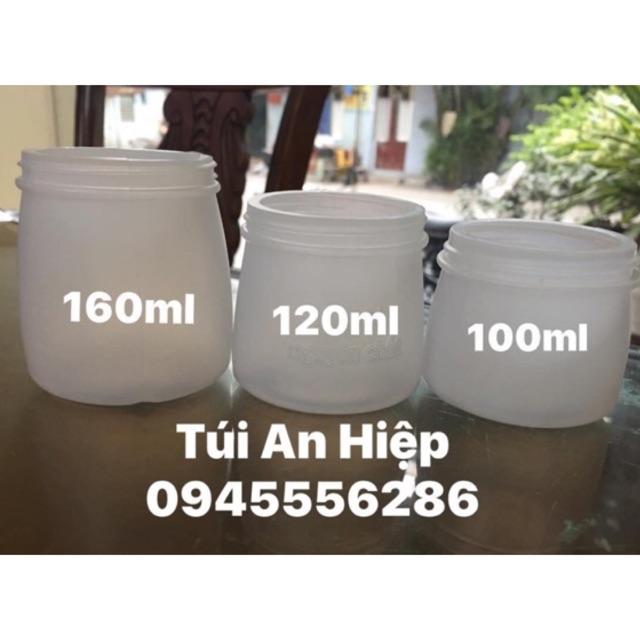 [COMBO] 20 cốc nhựa sữa chua 100/110/120/140/160ml