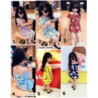 Váy hoa tiểu thư cho bé gái - VHM