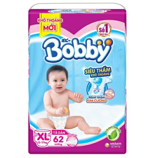 Tã dán bobby XL62