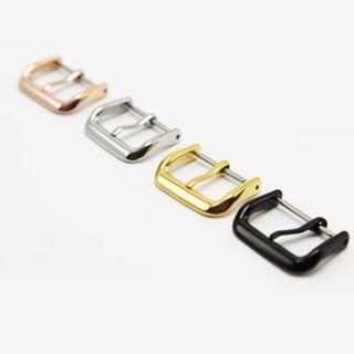 Khóa kim inox 304 mạ màu cao cấp bền màu dành cho dây da đồng hồ nam phong cách đơn giản, cổ điển - K2002 thumbnail