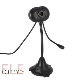 111ele Computer Camera Sensor Video Recording Web Camera with Mic Desktop Laptop PC practical thumbnail
