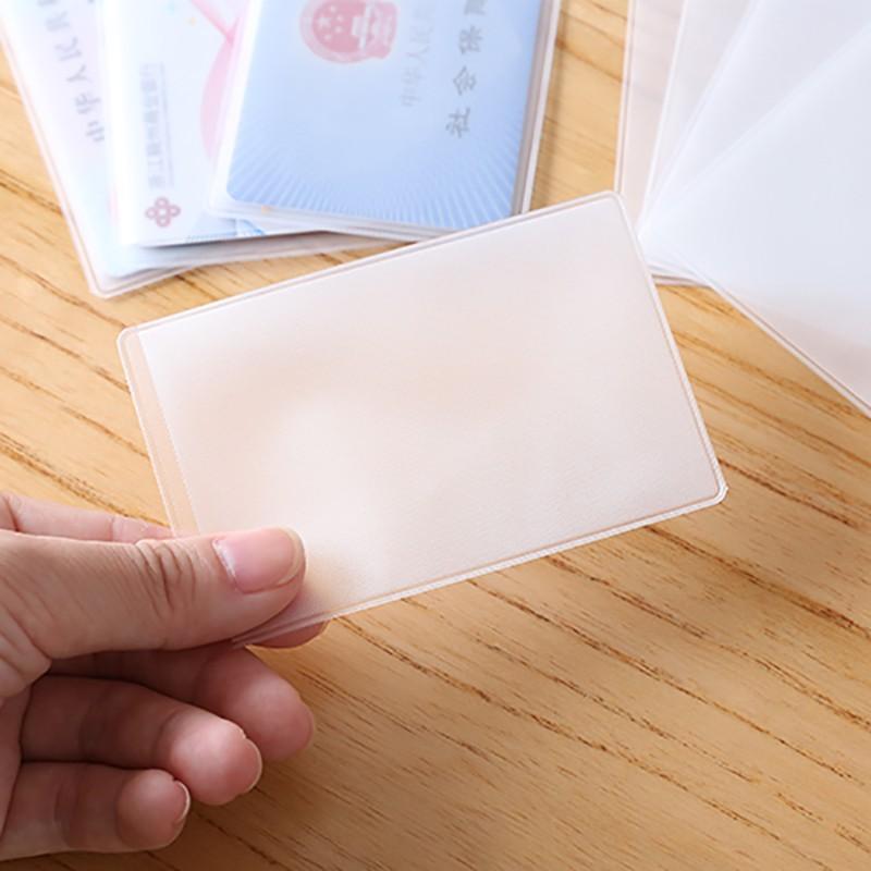 Combo 8 vỏ bọc bảo vệ thẻ ngân hàng, thẻ sinh viên 9.3 x 6cm