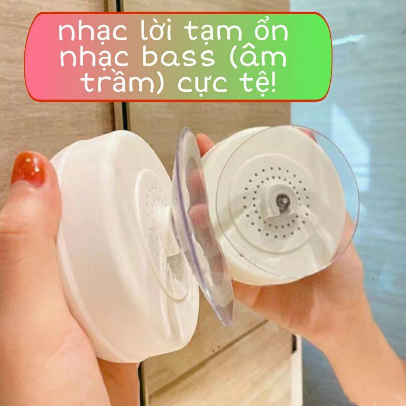 Loa Bluetooth mini dễ thương dùng trong nhà tắm chống nước giá rẻ gắn tường
