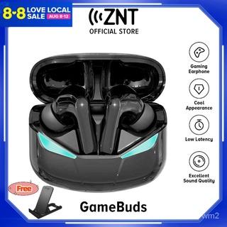 MỚI ZNT GameBuds tai nghe gaming bluetooth 5.0 Chế độ trò chơi nghe nhạc Chipset có độ trễ thấp 60-80ms chất lượng ca thumbnail