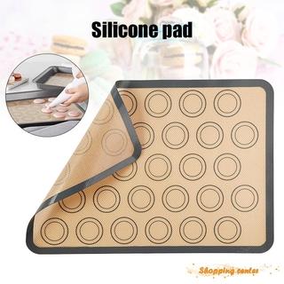 1 Tấm Lót Silicon Chống Dính Nướng Bánh Macaron