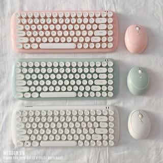 Bộ bàn phím giả cơ & chuột MOFII Candy Basic